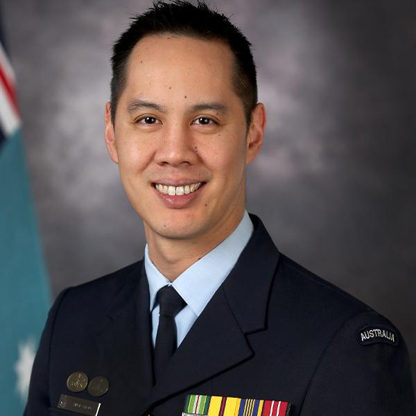 Group Captain Vince Chong